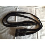 Plaited Pony Club Reins with centre buckle