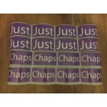 Just Chaps Pyramid Stickers ONLY